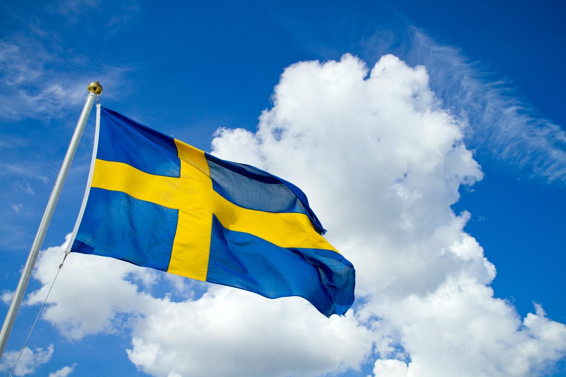 Bildresultat för midsommarstång med flagga