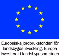 Logotyp för Europeiska jordbruksfonden för landsbygdsutveckling.